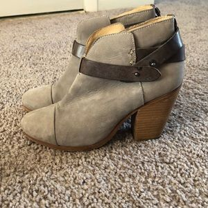 Rag and bone heeled booties